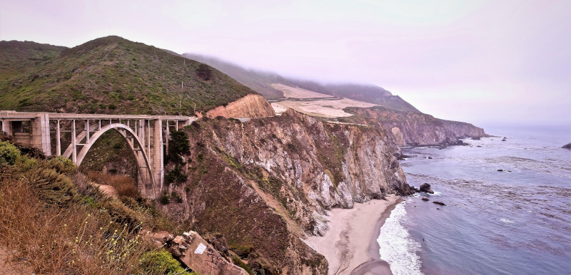 big sur w USA